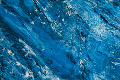 Abstract blue paint strokes on the background Royalty Free Stock Photography