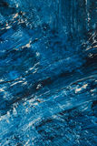Abstract blue paint strokes on the background Royalty Free Stock Image