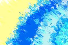 Abstract  blue painted background Stock Photos