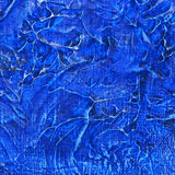 Abstract blue painting texture Royalty Free Stock Photography