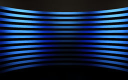 Abstract blue panels with copyspace for text. 3D render Stock Images