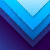 Abstract Blue Paper Triangle Shapes Background Royalty Free Stock Photo