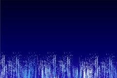 Abstract blue party silvester background stock illustration