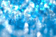 Abstract blue pastel bokeh background texture with bright soft c royalty free stock photo