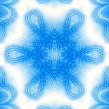 Abstract blue pattern. Abstract blue background with concentric pattern Stock Photo