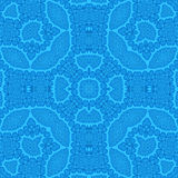 Abstract blue pattern Stock Photo
