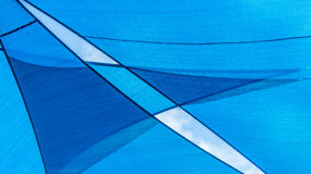Abstract blue pattern and background royalty free stock images