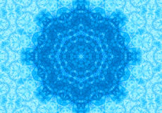 Abstract blue pattern Royalty Free Stock Photography