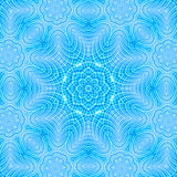 Abstract blue pattern Royalty Free Stock Photos