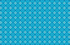 Abstract blue pattern background Royalty Free Stock Photos