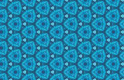 Abstract blue pattern background Stock Photography