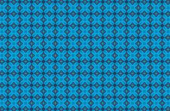 Abstract blue pattern background Stock Photo