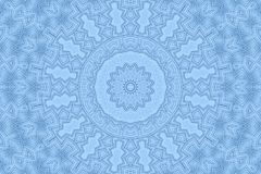 Blue background with abstract foam pattern Royalty Free Stock Photography