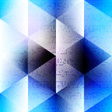 Abstract blue pattern in matrix technology style Stock Photos