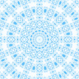 Abstract blue pattern on white Stock Images