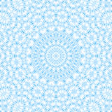 Abstract blue pattern on white Royalty Free Stock Images