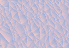 Abstract blue and pink background consisting of triangles. Vector art Royalty Free Stock Image