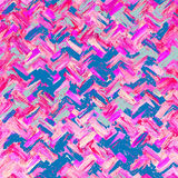 Abstract blue and pink Crisscross patterns background Stock Image