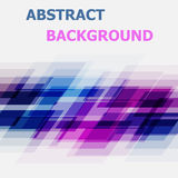 Abstract blue and pink geometric overlapping background Stock Photo