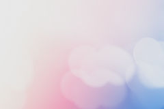 Abstract blue pink pastel bokeh light background with copy space on white area. Abstract blue pink pastel bokeh light for background with copy space on white Stock Image