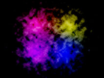 Abstract blue,pink,purple and yellow color background for business, computer,technology or electronics products. Illustration for. Artworks and posters Stock Images