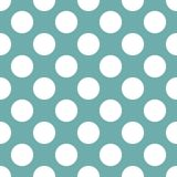 Abstract blue polka dot background pattern. Vector image royalty free illustration