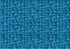 Abstract blue polygon pattern background texture vector. Illustration Royalty Free Stock Image