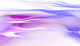Abstract blue and purple color wavy background Stock Images