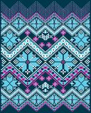 Abstract blue purple pattern Royalty Free Stock Photography