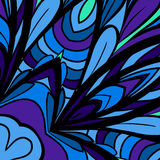 Blue-purple abstract pattern Royalty Free Stock Images