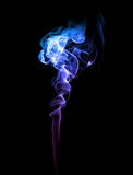 Abstract blue and purple smoke Royalty Free Stock Images