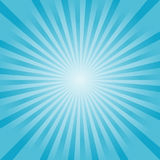 Abstract Blue rays background. Vector EPS 10 cmyk Royalty Free Stock Images