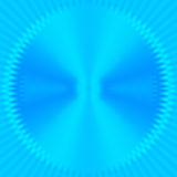 Abstract blue rays Royalty Free Stock Photos