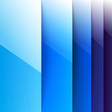 Abstract blue rectangle shapes background. RGB EPS 10  illustration Royalty Free Stock Image