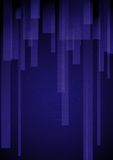 Abstract Blue Rectangle Shapes Background. Royalty Free Stock Photos