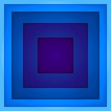 Abstract blue rectangle shapes vector background Royalty Free Stock Images