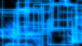 Abstract blue rectangles stock video