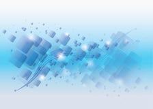 Abstract blue rectangles Stock Photos