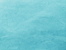 Abstract Blue Recycle Mulberry Paper Texture Background Royalty Free Stock Images