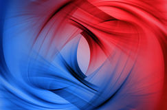Abstract blue and red background Stock Photo