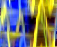Sparkling blue gold lights, vivid abstract background and texture. Abstract blue red brown gold lights, geometries, shapes, sparkling geometries, forms and vector illustration