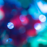 Abstract blue and red circular bokeh background Royalty Free Stock Photo