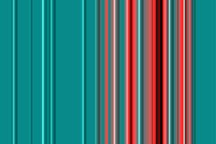 Abstract blue red lines and design, textile pattern. Plastic like lines with lights and gradient hues in blue and red colors. Textile pattern with hard contrasts Stock Photography