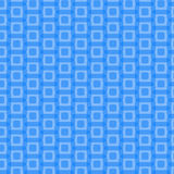 Abstract Blue Rounded Squares Pattern, vector Royalty Free Stock Images