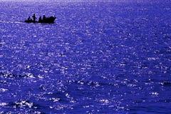 Abstract blue sea Royalty Free Stock Photo