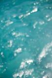 Abstract blue sea bokeh background Stock Photo