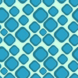 Abstract Blue Sea Seamless Pattern Stock Photo