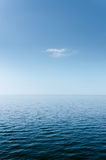 Abstract Blue Sea and Sky Royalty Free Stock Photos