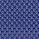 Abstract blue seamless pattern. Stock Photos