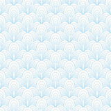 Abstract blue seamless pattern Royalty Free Stock Photography